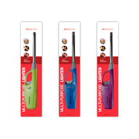 Multi Purpose Refillable Lighter on Blister