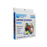 Zipper Storage Bags  Jumbo x1's