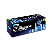 MC Biodegradable Ice Cube Bags20's