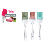 Silicone Brush Transparent Handle  (20.6x4.5)