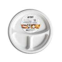 MC Eco Plate 3 Section 230mm (9'') 10pk