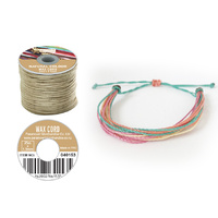 Wax Cord  in Reel NATURE 25m