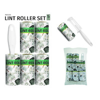 Lint Roller Value Set 12 Sheets x 5's
