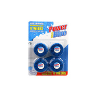 MAXCARE Toilet Blue Block 50gms x 4's