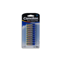 Camelion AAA Super Heavy Duty 10's