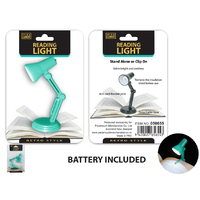 LED Reading Light Retro Style w/Clip