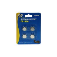 Button Battery CR1620 4's