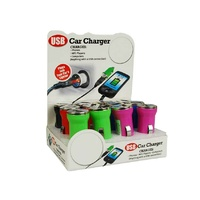 Colored USB Car Charger