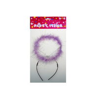 Party feather halo