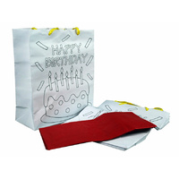 Color me Birthday Bags 5bags + 5 tissues 4471