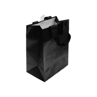 Paper Gift Bag Black Small 19.7x11.4x24.7CM
