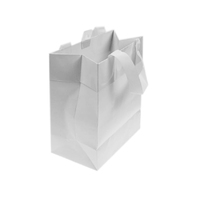 Paper Gift Bag White Small 19.7x11.4x24.7CM