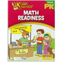 Kenny Kangaroo Math Readiness Workbooks  32pg