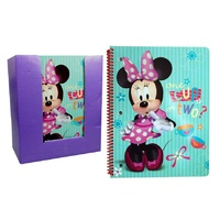 Disney 1 Subject Note Book Minnie Mouse  100pg in PDQ