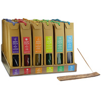 Incense 36 Sticks+Wooden Holder with Wooden Stand