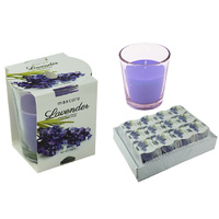 MC Scented Candle in Glass Tumbler 85gms Lavender Breeze
