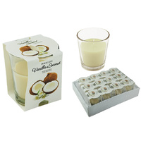 MC Scented Candle in Glass Tumbler 85gms Vanilla & Coconut