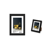 "Max Brand Photo Frame  10x15cm (4x6"") Black"