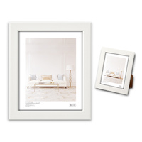 "Max Brand Photo Frame  20x25cm (8x10"") White"