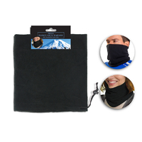 Polar Fleece Neck Warmer  black
