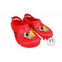 Kids Sloggers Red XS 7-8#