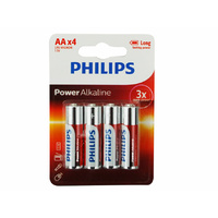Philips ALKALINE Power Battery 4AA