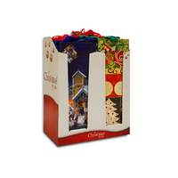 Christmas Gift Bag - Bottle Large (35.8x13cm)