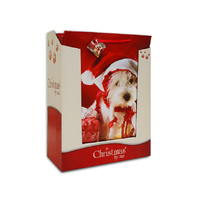 Christmas Pet Gift Bag - Jumbo(45.5x33x10cm)
