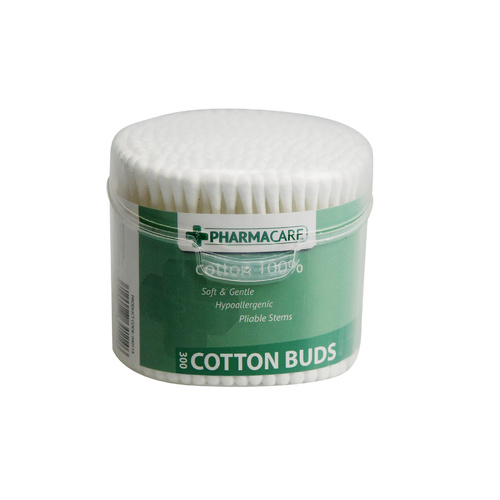 Pharmacare Cotton Buds 300's
