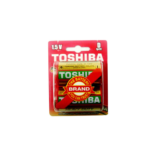 Toshiba Super Heavy Duty D 2PK Battery