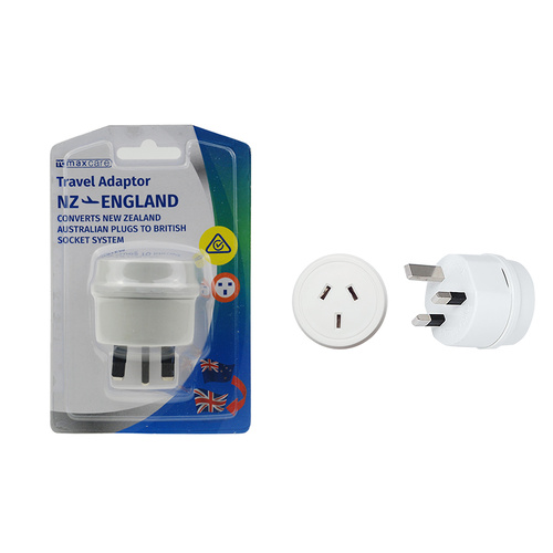 Universal Travel Adaptor NZ to England HK 10A 250V