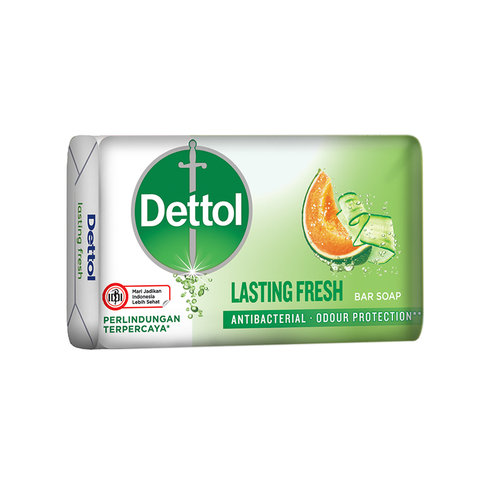 Dettol Antibacterial  Bar Soap 65g Lasting Fresh